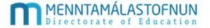 Menntamálastofnun - Logo